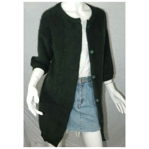 e2402496dffff Minnie Rose Sweaters - Minnie Rose Women s Wool Cardigan Sweater Size M